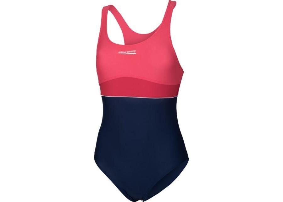 Aqua-Speed Lasten uimapuku Aqua-Speed EMILY Junior tummansininen-roosa
