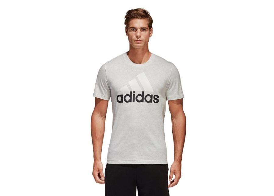 Image of Adidas Miesten vapaa-ajanpaita Adidas Essentials Linear Tee M B47357