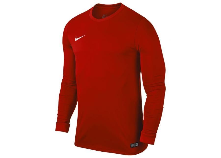 Image of Nike Lasten jalkapallopaita Nike PARK VI LS Junior 725970-657