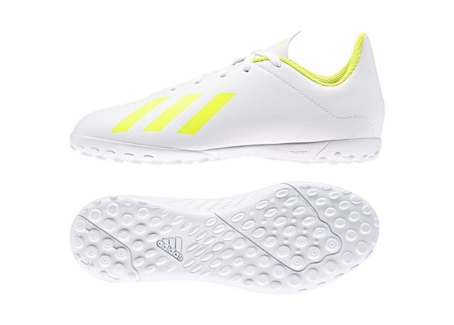 Image of Adidas Lasten jalkapallokengät tekonurmelle Adidas X 18.4 TF Jr BB9418