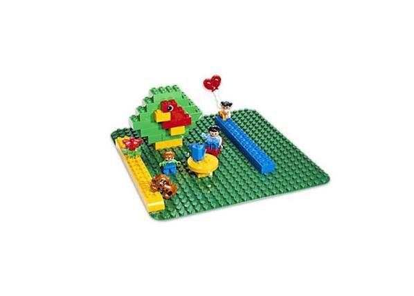 Lego DUPLO suuri, vihreä rakennusalusta