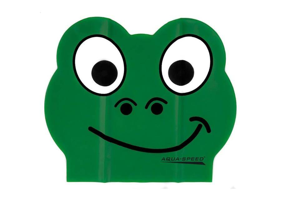 Aqua-Speed Lasten uimalakki Aqua-Speed lateksi ZOO Frog