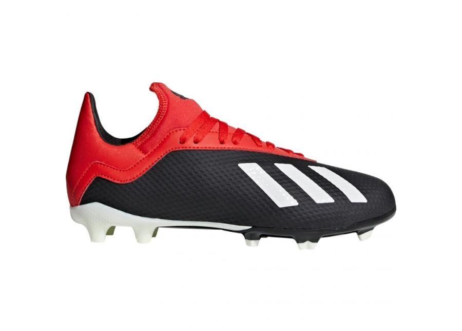 Image of Adidas Lasten jalkapallokengät nurmikentälle Adidas X 18.3 FG Jr BB9370