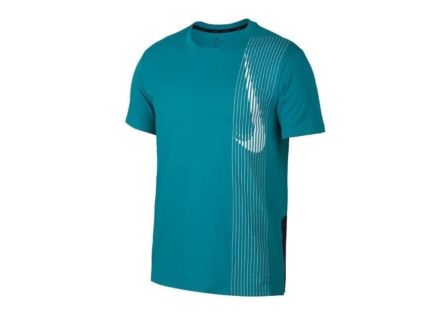 Image of Nike Miesten treenipaita Nike Dry Top SS LV M AQ0443-366