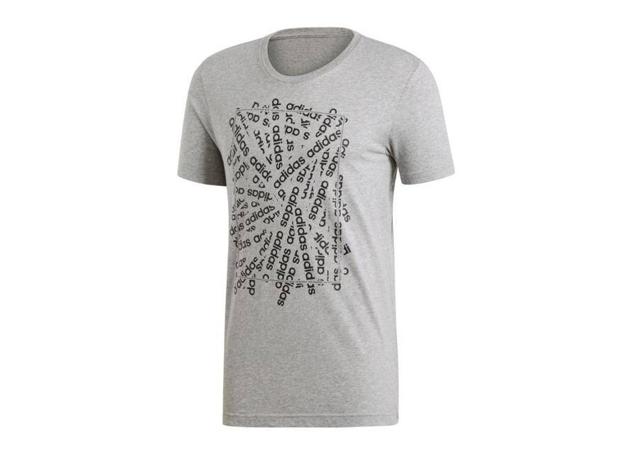 Image of Adidas Miesten t-paita Adidas Essentials Linear Scatter M DV3047