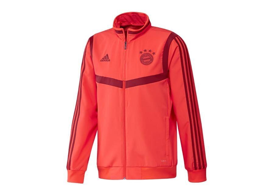 Adidas Miesten verryttelytakki Adidas Bayern Monachium Presentation 19/20 Jacket M DX9178