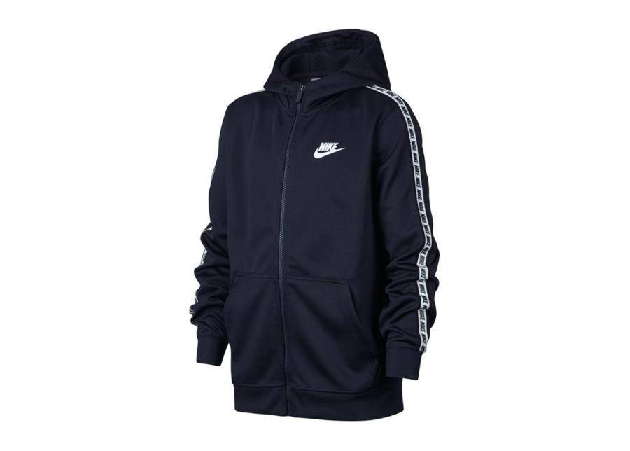 Image of Lasten huppari Nike NSW Repeat FZ Hoodie Junior AV8387-451