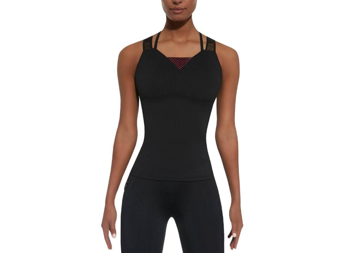 Naisten hihaton t-paita BAS BLACK Inspire-Top 50