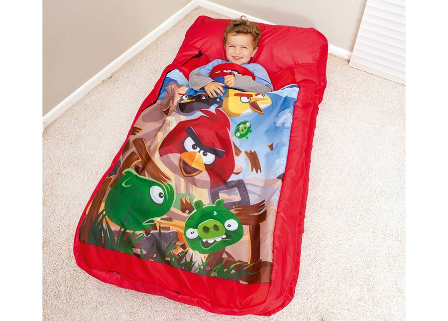 Bestway Ilmapatja makuupussilla Bestway Angry Birds