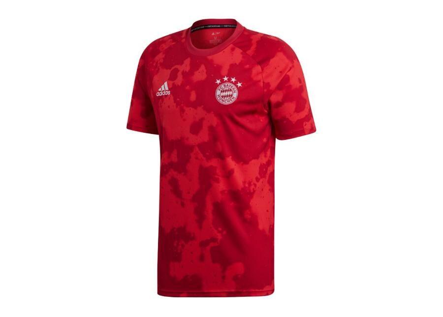 Image of Adidas Miesten jalkapallopaita Adidas Bayern Munchen Pre-Match M DX9676