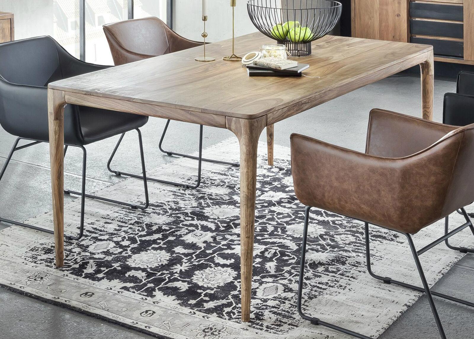 SIT Möbel Ruokapöytä Mid Century 140x70 cm