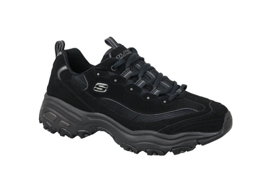 Image of Miesten vapaa-ajan kengät Skechers D'Lites M 52675-BBK
