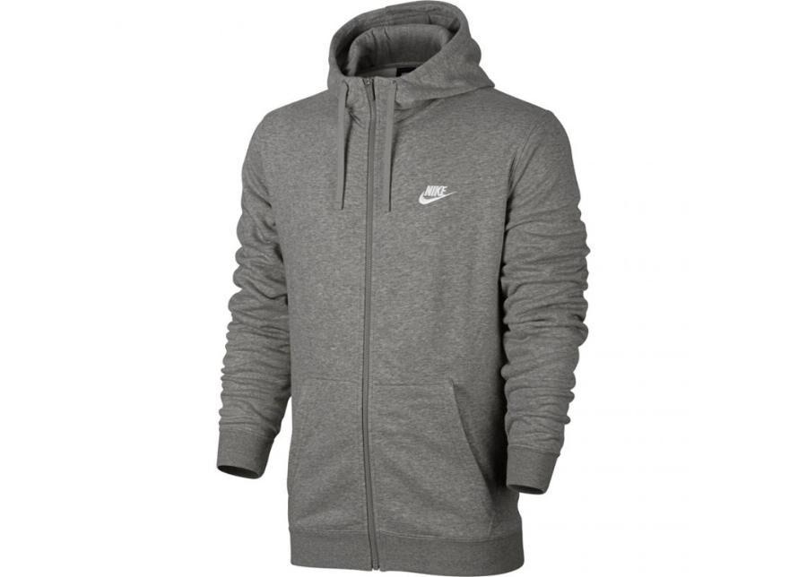 Image of Nike Miesten huppari Nike NSW Hoodie FZ FT Club M 804391 063