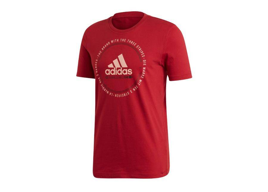 Image of Adidas Miesten t-paita Adidas MH Emblem Tee M ED7274