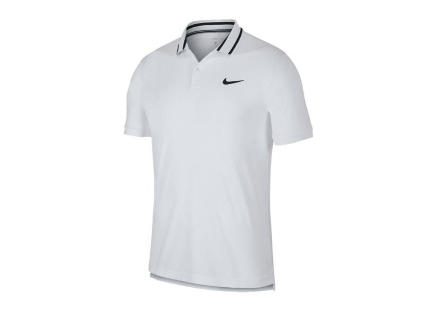 Image of Nike Miesten poolopaita Nike Court Dry Polo Piqué M BV1194-100