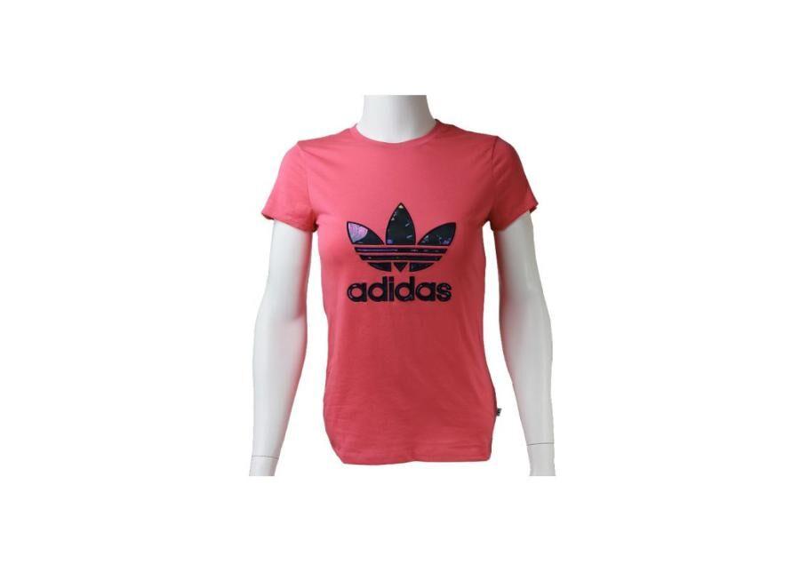 Image of Lasten t-paita Adidas J BB Trefoil T-Shirt Junior AJ0035