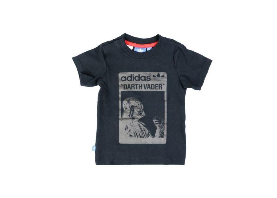 Image of Adidas Lasten t-paita Adidas Star Wars Kids T-Shirt Darth Vader Tee Junior S14386