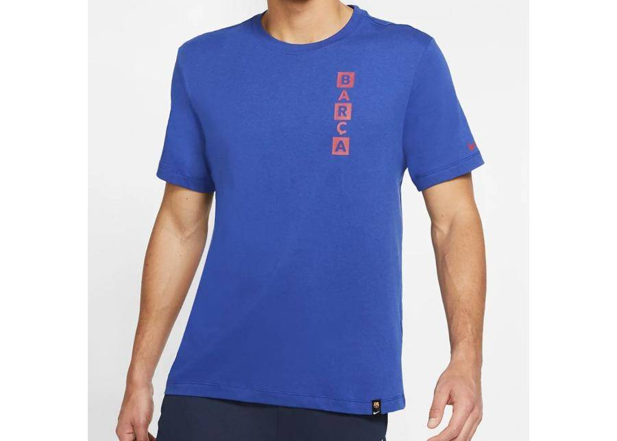 Image of Nike Miesten t-paita Nike FC Barcelona Tee Kit Story M AQ7514-455