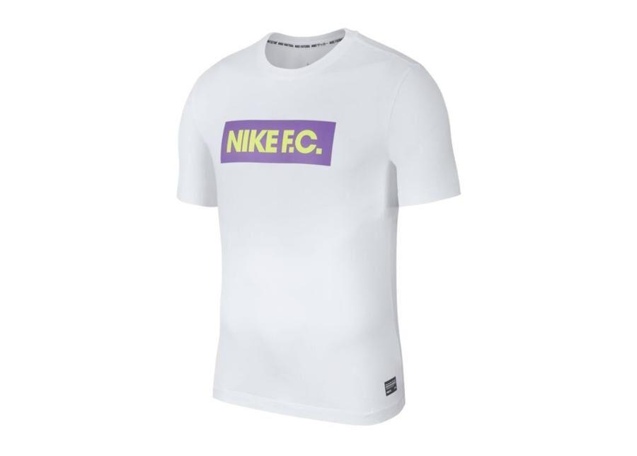 Image of Nike Miesten treenipaita Nike F.C. Dry Tee Seasonal Block T-shirt 100
