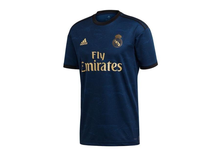 Image of Adidas Miesten jalkapallopaita Adidas Real Madrid Away Jersey T-Shirt 19/20 M FJ3151