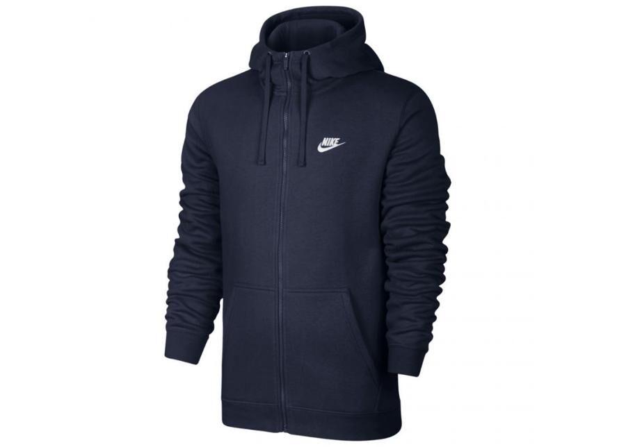 Image of Nike Miesten huppari Nike NSW Hoodie FZ FLC Club M 804389 451