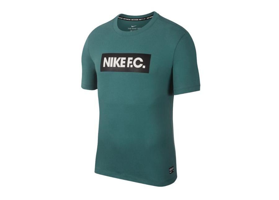 Image of Nike Miesten treenipaita Nike F.C. Dry Tee Seasonal Block M AQ8007-362