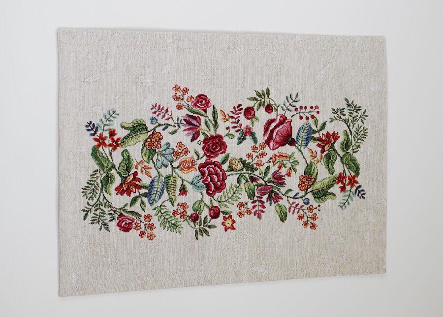 SikSak Gobeliinikankainen pöytäliina/pöytätabletti Bloom 36x50 cm