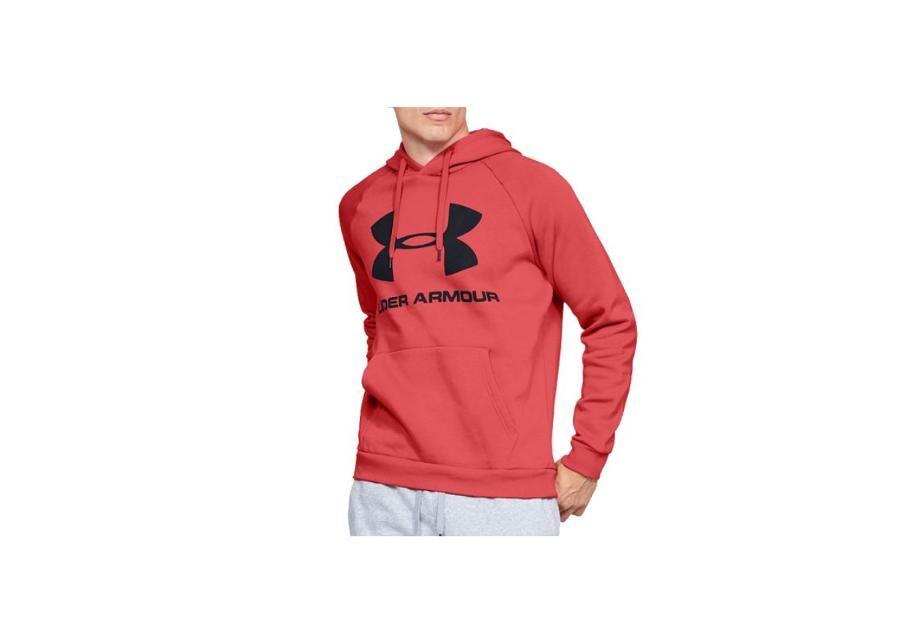 Image of Under Armour Miesten huppari Under Armour Rival Rival Fleece Sportstyle Logo Hoodie M 1345628-646