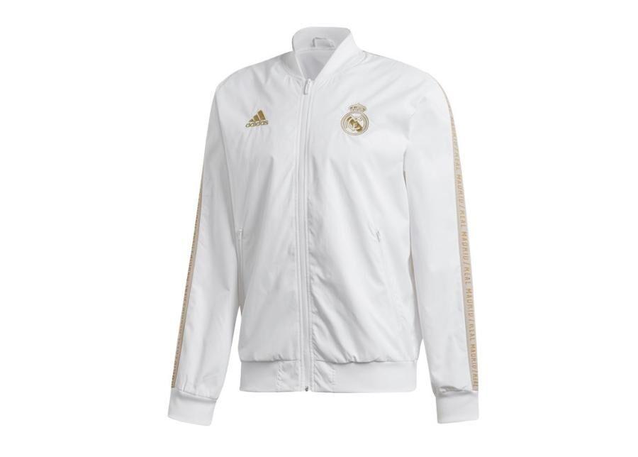 Image of Adidas Miesten kuoritakki Adidas Real Madrid Anthem Jacket M DX8695