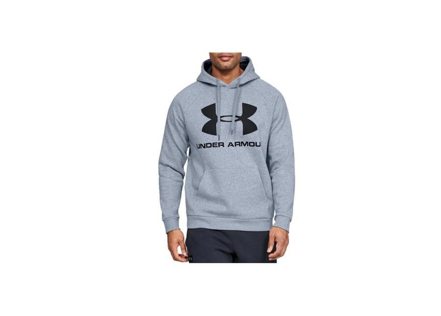 Image of Under Armour Miesten huppari Under Armour Rival Fleece Sportstyle Logo Hoodie M 1345628-035