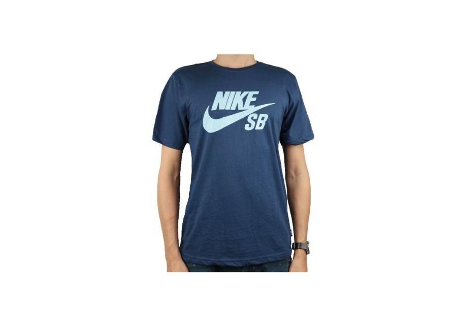 Image of Nike Miesten t-paita Nike SB Logo Tee M 821946-458