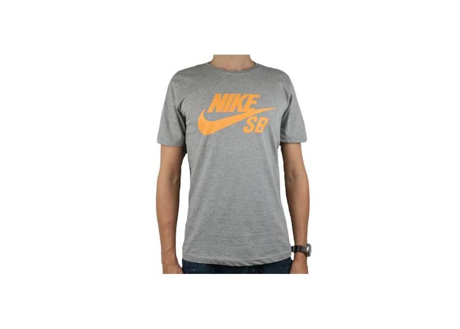 Image of Nike Miesten t-paita Nike SB Logo Tee M 821946-073