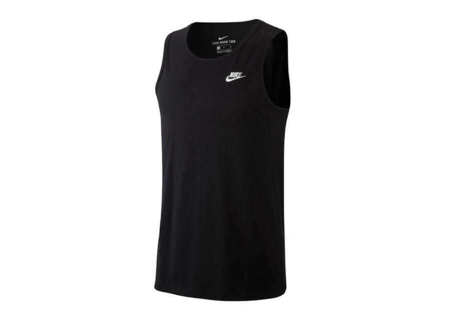 Image of Nike Miesten hihaton t-paita Nike NSW Club Tank M BQ1260-010
