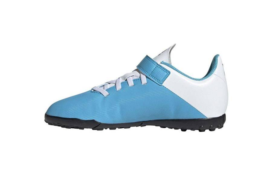 Image of Adidas Lasten jalkapallokengät Adidas X 19.4 H&L TF JR EF9126 sininen