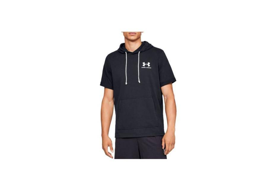 Image of Under Armour Miesten vapaa-ajanpaita Under Armour Sportstyle Terry SS Hoody Tee M 1329290-001