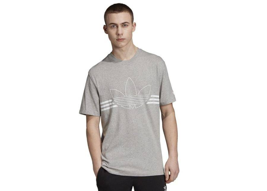 Image of Miesten t-paita Adidas Originals Outline Tee M ED4699 harmaa