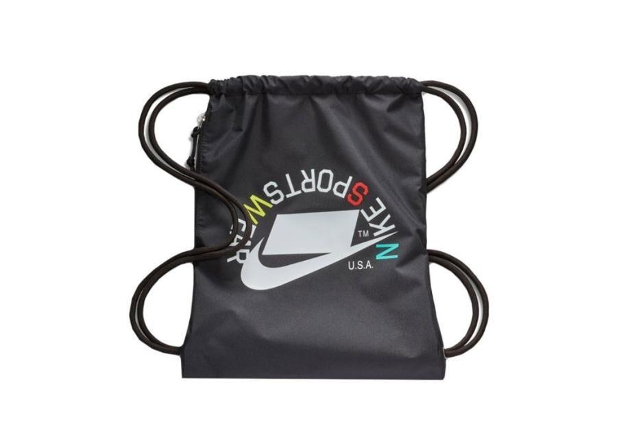 Image of Nike Kenkäpussi Nike Heritage Gymsack BA5431 019 musta