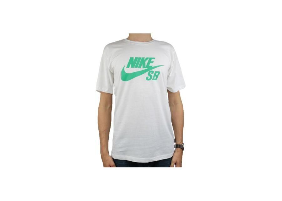 Image of Nike Miesten t-paita Nike SB Logo Tee M 821946-103