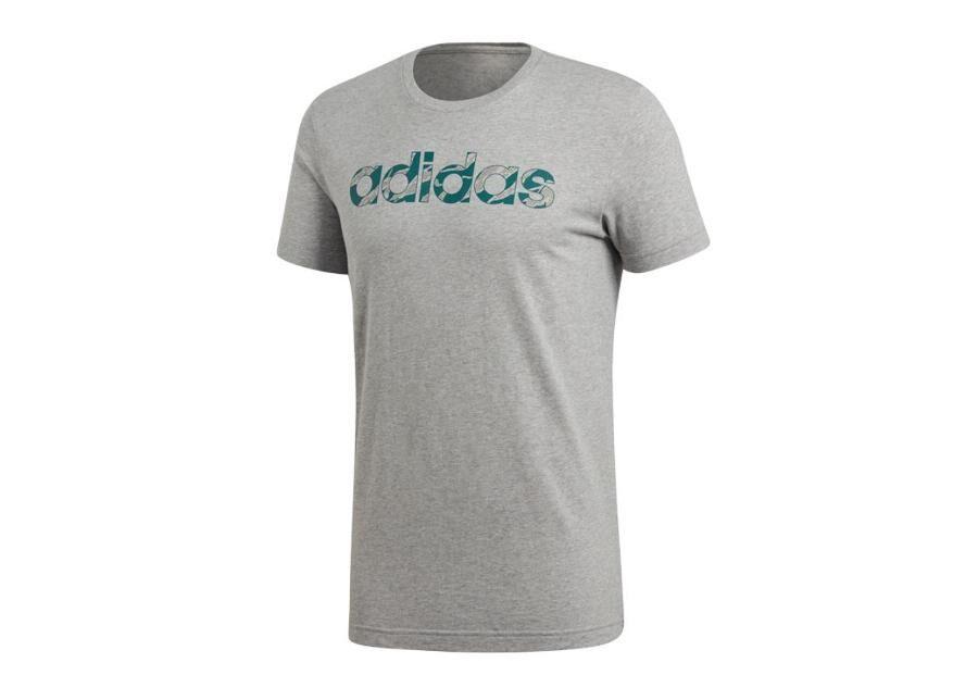 Image of Adidas Miesten t-paita Adidas Linear Camo T-shirt M DI0311