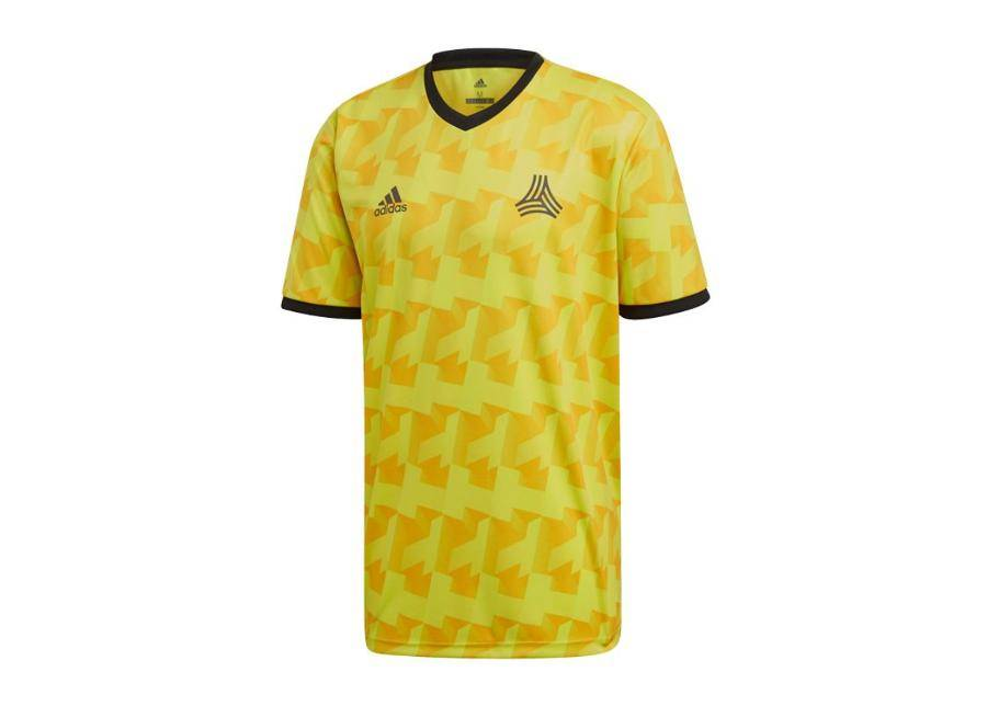 Adidas Miesten jalkapallopaita Adidas Tango MW AOP Jersey T-shirt M DX2328