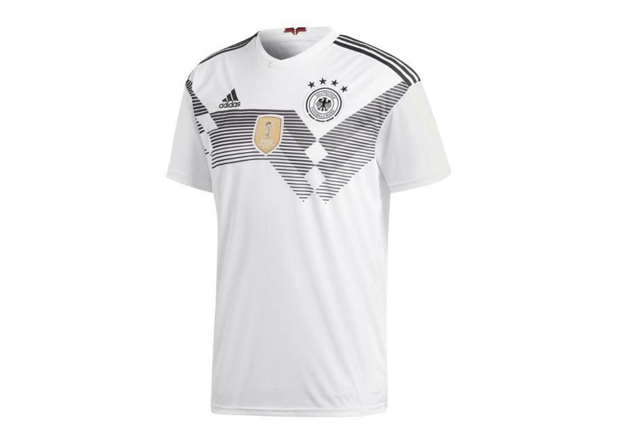 Image of Adidas Miesten jalkapallopaita Adidas DFB Home Jersey 2018 M BR7843