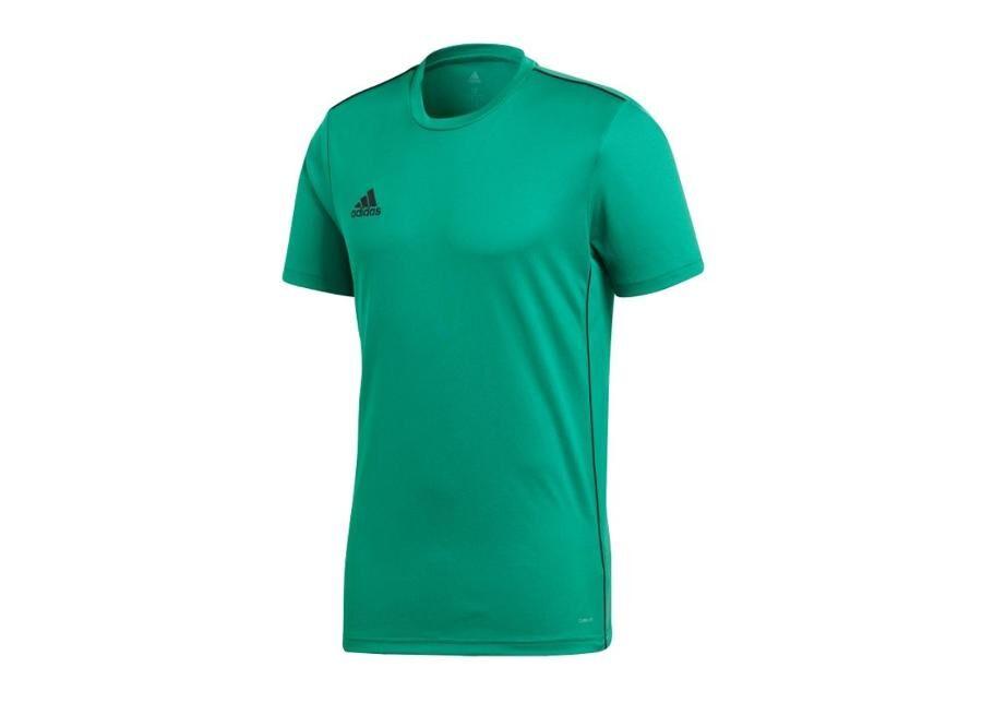 Image of Adidas Miesten jalkapallopaita Adidas T-Shirt Core 18 Training Jersey JR CV3498