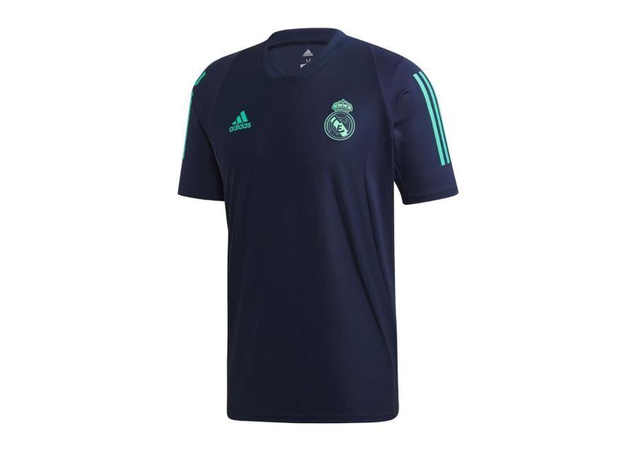 Image of Adidas Miesten jalkapallopaita Adidas Real Madrid Training JSY T-shirt M DX7825