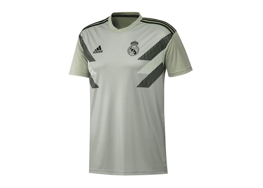 Image of Adidas Lasten jalkapallopaita Adidas Real Madrid Preshi T-shirt JR CW5827