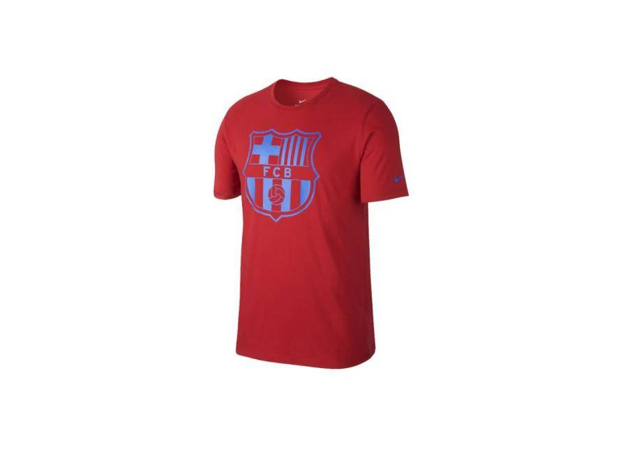 Image of Nike Miesten jalkapallopaita Nike FC Barcelona Crest Tee M 832717-687