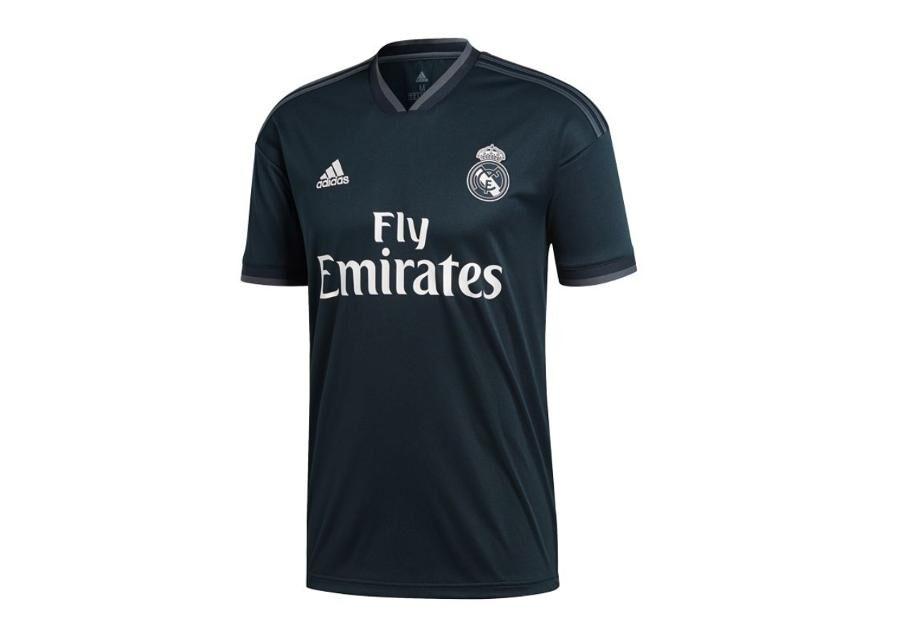 Image of Adidas Miesten jalkapallopaita Adidas Real Madrid Away Jersey T-Shirt 18/19 M CG0584