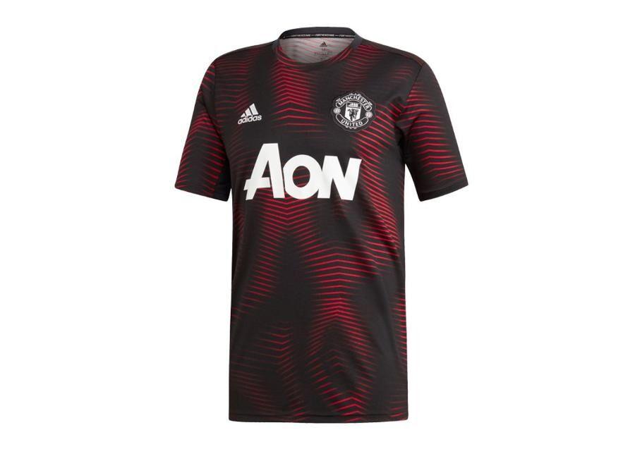 Image of Adidas Miesten jalkapallopaita Adidas MUFC Home Pre Match 18/19 M DP2285