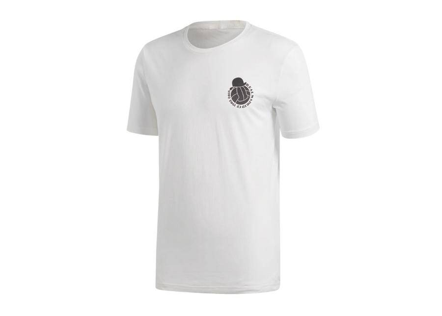 Image of Adidas Miesten jalkapallopaita Adidas Real Madrid Graphic Tee t-shirt M CW8702