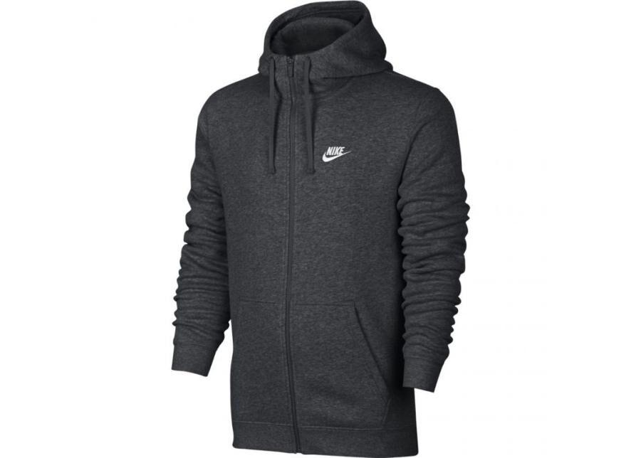 Image of Nike Miesten huppari Nike M NSW Hoodie FZ FLC Club M 804389 071