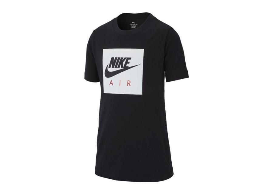Image of Nike Lasten vapaa-ajanpaita Nike NSW Tee Air Box Junior AR5257-010